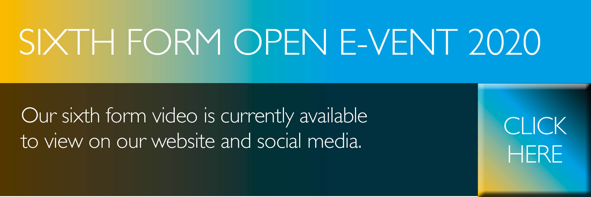 Banner – NEW6 Open Event